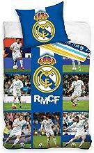 Bettwäsche Set Real Madrid 140x200+1x70x80
