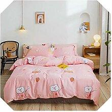 Bettwäsche-Set, Übergröße, Khaki, 2019,