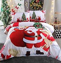 Bettwäsche Set Weihnachten mit Deckenbezug