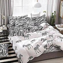 Bettwäsche Sets Bettbezug Zebra Pattern Bedding