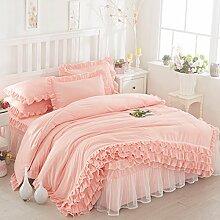 Bettwäsche-Sets Mädchen Königin Bettlaken Set
