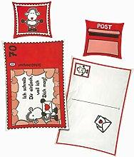 Bettwäsche Sheepworld Postkarte ich schreib Dir