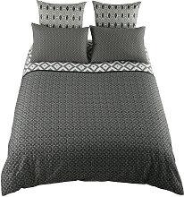 Bettwäschegarnitur MALONI aus Baumwolle, 220x240,