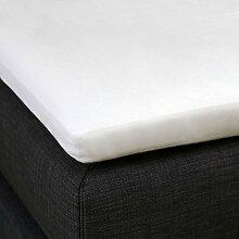 Bettwaren-Shop Molton Schonbezug für Topper 200x200 cm