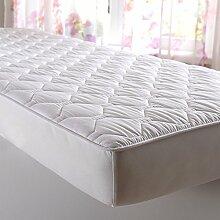 BettwarenShop Baumwolle Spannauflage Unterbett 140x200 cm