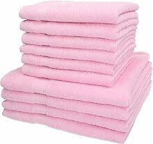 Betz 10-TLG. Handtuch-Set Palermo 100% Baumwolle 4