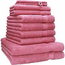 Betz 10-tlg. Handtuch-Set PREMIUM 100%Baumwolle 2