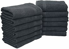 Betz 12 Stück Handtuch Set Palermo 100% Baumwolle