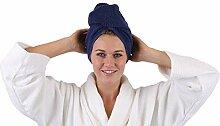 Betz 2 Stück Haarturban Turban Handtuch für die