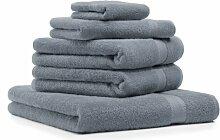 Betz 5-TLG. Handtuch-Set Premium 100% Baumwolle 1