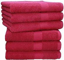 Betz 6 Stück Handtücher Palermo 100% Baumwolle