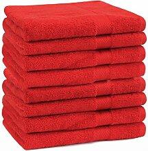 Betz 8 Stück Handtücher Set Größe 50 x 100 cm