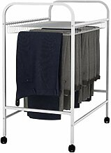 Bewegliche Hosenregal, Kleideraufbewahrung