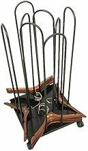 Beweglicher Bügelstapler aus Eisen, Ständer mit