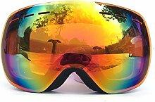 Beydodo Schneebrille Damen Herren Sportbrille