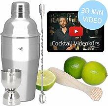 Beyond Cocktail Shaker Set mit Videokurs -