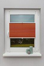 Beyond Drape Plissee Orange 100x130 cm verspannt