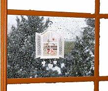 bezauberndes Fensterbild SPITZE Voile OSTERN