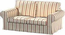 Bezug für Ektorp 2-Sitzer Sofa nicht ausklappbar,