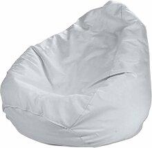 Bezug für Sitzsack, weiss, Bezug für Sitzsack Ø80x115 cm, Cotton Panama