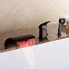 BFDMY Wasserfall Badewannenarmatur Wasserhahn mit