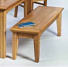 BFK Möbel Collection Beverly Sitzbank  Holz braun 42x140x47 cm