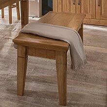 BFK Möbel Collection Beverly Sitzbank  Holz braun 42x160x47 cm