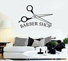 BFMBCH Barbershop Vinyl Wandtattoo Beauty Friseur