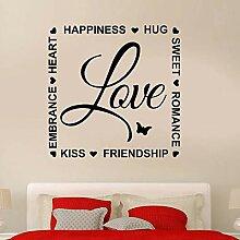 BFMBCH Liebe romantische Glück Inschrift
