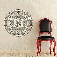 BFMBCH Mandala Wandaufkleber dekorative