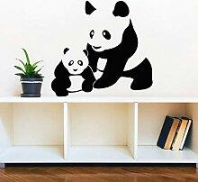 BFMBCH Mutter und baby panda wandtattoo