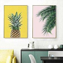 BGAJLGSVJF Tropische Pflanze Plakate und Drucke
