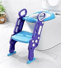 BGHKFF Kindertoilette Faltbar Toilettentrainer Mit
