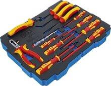 BGS 3352 Werkzeugeinlage bestückt VDE Zangen &