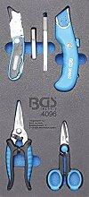 BGS 4096 | Werkstattwageneinlage 1/3: Messer- und