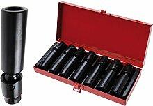 BGS Kraft-Kugelgelenkeinsätze, 10 mm, 10-17 mm,