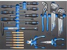 Bgs Werkstattwagen-einlage 33 Hammer- Zangen-