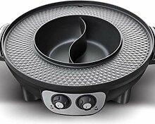 BHDYHM Super Pot, Teppanyaki Elektro-Grillplatte,