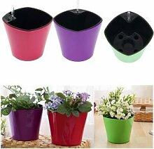 Bheema Garten-automatische Bewässerung Bewässerung Töpfen Kunststoff kultiviert Blumentopf
