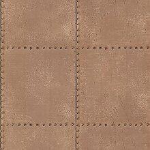 BHF 2604-21253 genietete Tapete Industrie Fliesen
