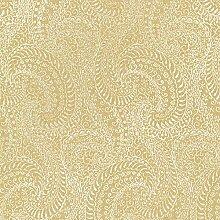 BHF 2618–21323daraxa Paisley Tapete–Gold