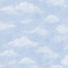 BHF 443-ci6273Azure Sky Tapete–Hellblau