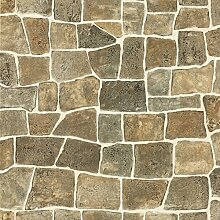 BHF 96505CERAMICA Stonewall Küche und Badezimmer Tapete–Ocker/grau