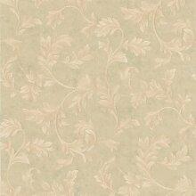 BHF 990–44864Totteridge grünen Scroll Tapete–hellgrün