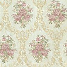 BHF 991–68234Dutchess Floral Damast Tapete–hellgrün