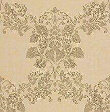BHF dl22823Carina Khaki Floral, Tapete-(1)