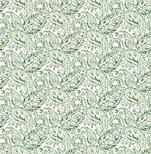 BHF fd22211Ami Adrian grün Paisley Tapete–Grün