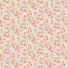BHF fd22217Ami Elsie Floral Tapete–Pink