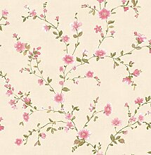 "BHF fd22249 Ami """"Delphine Floral Tapete – Pink"