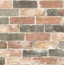BHF fd22320Wieder Bricks Tapete–Dusty Ro